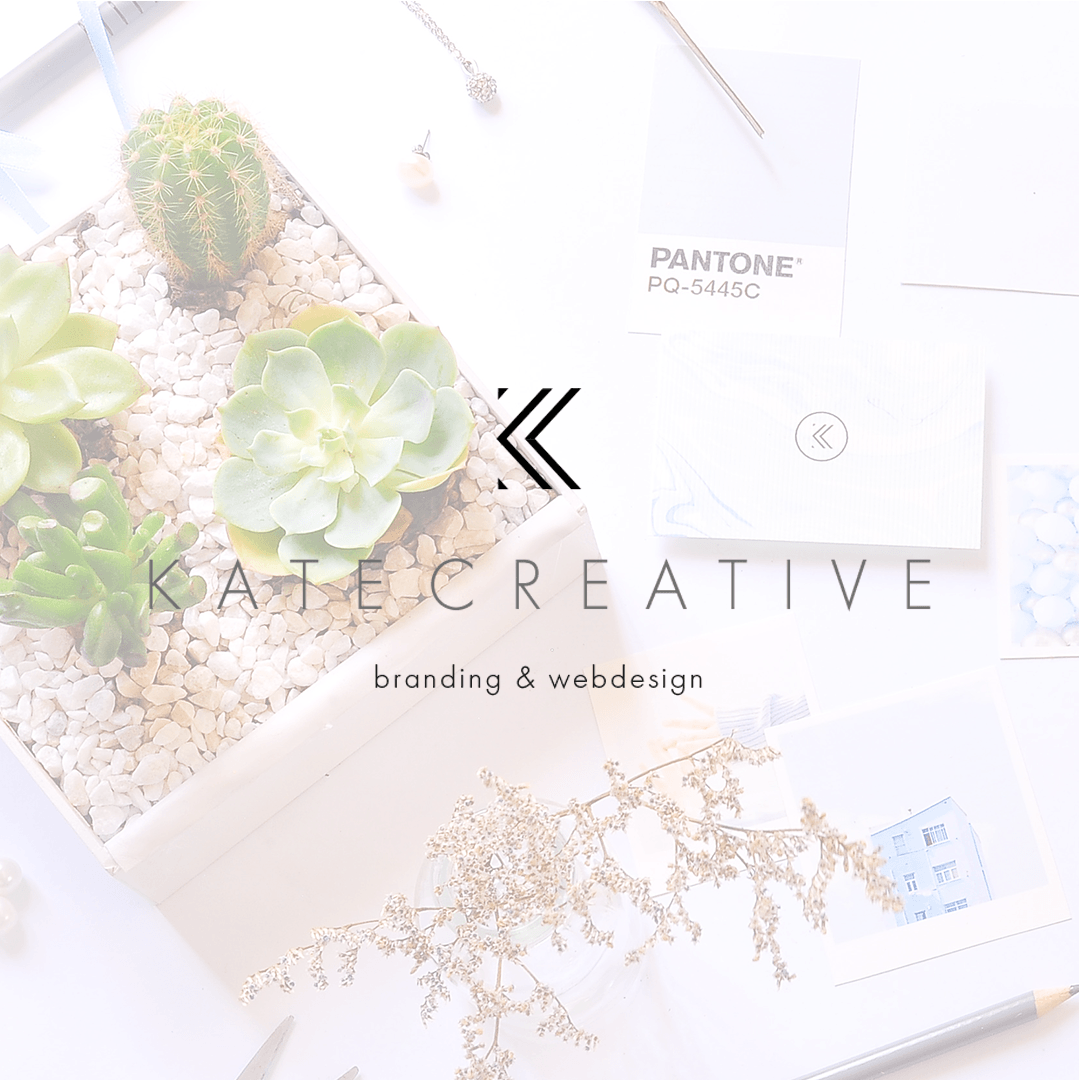 Kate Creative Brand and Website Reveal