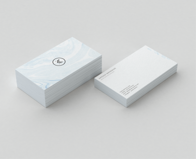 business card kate creative